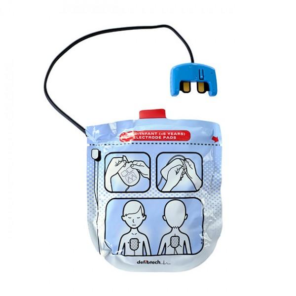DEFIBTECH Lifeline View Elektroden für Kinder