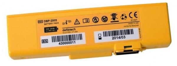 DEFIBTECH Lifeline View Batterie