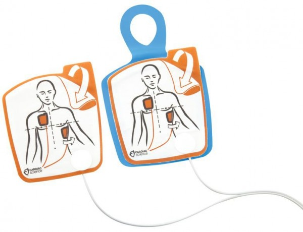 G5 Defibrillationselektroden ohne HLW (Erwachsene)